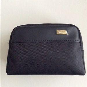 TUMI Mini Black Zip Travel Pouch | Toiletry Bag